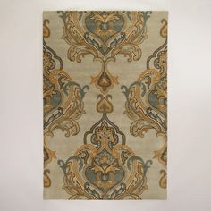 One of my favorite discoveries at WorldMarket.com: 6'x9' Tatiana Tufted Wool Rug $449.99