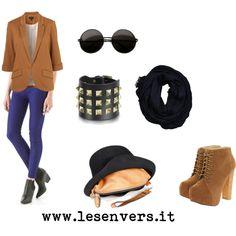"""Les Envers style with Hat Bag""   on sale www.lesenvers.it"