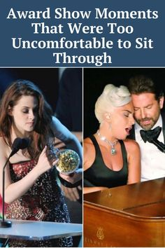 These are the most embarrassing and awkward moments that happened during award shows