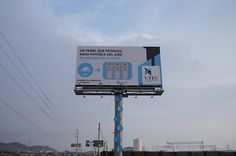 An advertising agency has created what it's calling the world's first billboard that converts air into drinking water.