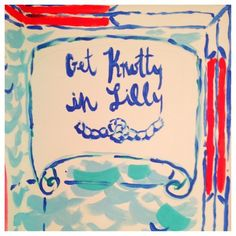 Get knotty in Lilly.