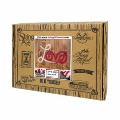 Red and White Love String Art Kit Who doesn't love this Love String Art Kit. In a matter of fact, show some love for this Love String Art! Repost it, tell you