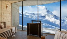 APRIL Ada Nyman's Guide to the Best Spa Hotels in Zermatt, Switzerland. Hand-picked guide with the Best Spa Hotels in Zermatt. Zermatt, Alpine Chalet, Top 10 Hotels, Sauna Design, Hotel Architecture, Best Spa, Luxury Spa, Luxury Pools, Luxury Accommodation