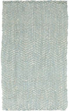 Reeds REED802 Blues Hand Woven Cotton Area Rug