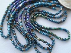 ANTIQUE FRENCH STEEL BEADS by antique*french*steel*beads
