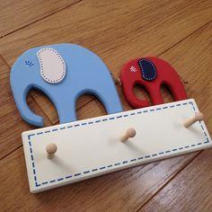 Elephant coat pegs, key racks or tea towel hooks