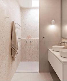 Bathroom Design Inspiration, Bathroom Interior Design, Reece Bathroom, Bathroom Pink, Bathroom Renos, Shiplap Bathroom, Bathroom Ideas, House And Home Magazine, Terrazzo