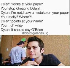dylan o'brien and thomas brodie sangster face - Google Search