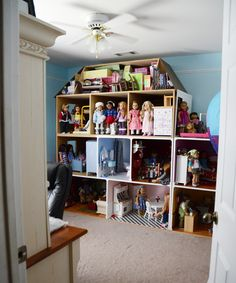 My American Girl dollhouse in my doll room