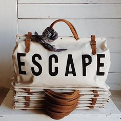 It's time to escape