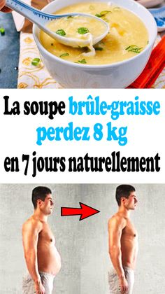 Fat burning soup: lose 8 kg naturally in 7 days - . Fat Burning Soup, Fat Burning Foods, Fitness Workouts, Cellulite, Health And Nutrition, Health Fitness, What Are Carbs, Foods With Calcium, Weigh Loss