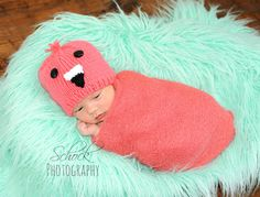 Flamingo Hat Coral Flamingo Hat Flamingo Baby by DesignsbyLeahC
