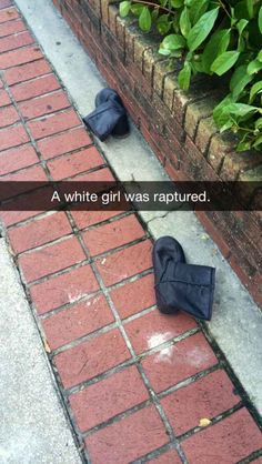 This Snapchat of every white girl's worst nightmare.   29 Snapchats That Are Too Clever For Their Own Good