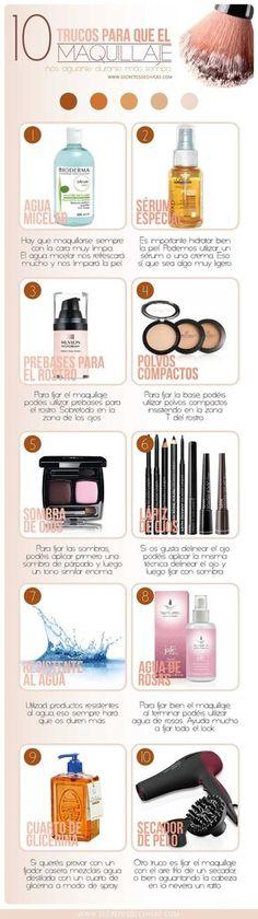 Maquillaje dure más