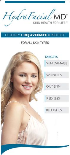 Hydra Facial for all skin types  #Skin #Skincare