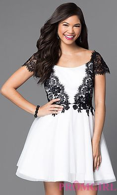 Shop semi-formal dresses at Simply Dresses. Short dresses for semi-formal events, cocktail dresses, party dresses, homecoming dresses, and semi-formal attire for parties. Prom Dresses 2015, Cheap Prom Dresses, Short Dresses, Beautiful Dresses, Nice Dresses, High Low Lace Dress, Semi Formal Dresses, Formal Prom, Designer Party Dresses