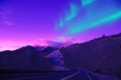 Winter Travel in Europe, Northern Lights in Sweden, Auto Europe