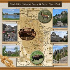 Black Hills/Custer State Park Section Page - Scrapbook.com