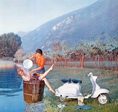 Lambretta advertisement. I'm not exactly sure what there selling but nice nonetheless.