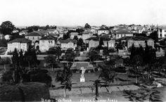 Rara foto da Praça Buenos Aires (hoje Parque Buenos Aires) no início do século 20