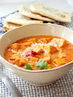 Paneer Makhani Butter Paneer recipe from ECurry. Ingredients: 14 oz paneer, (homemade or store bought)- cubed, 2 tablespoons thick drained plain yogurt or greek yogurt, 1 teaspoon ka. Paneer Recipes, Veg Recipes, Indian Food Recipes, Asian Recipes, Vegetarian Recipes, Cooking Recipes, Recipes Dinner, Dinner Ideas, Butter Paneer