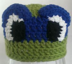 Teenage Mutant Ninja Turtle TMNT Crochet Hat Pattern - $3.99 on Ravelry