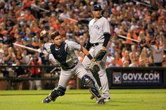 Francisco Cervelli Photos: New York Yankees v Baltimore Orioles