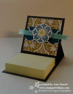 mini post it note holder