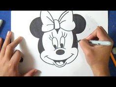 como desenhar Minnie Mouse - YouTube