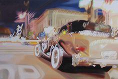 Painting by Brandy Hariton: Street Light- San Fransisco