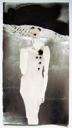 Bridget Davies Art: Who me?
