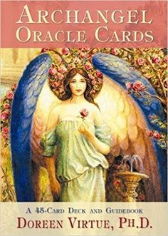 Archangels are very powerful, wise, and loving guides who can motivate and heal you in miraculous ways. This deck of 45 oracle cards by Doreen Virtue will familiarize you with the 15 archangels, give you messages from them, help you to invoke them, and answer some of your important life questions. You'll learn how to give an accurate archangel reading for yourself and others with the help of the enclosed guidebook. (Aff link)