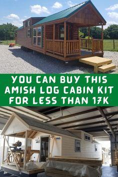 #Amish #log #cabin #kit Photography Poses, Nature Photography, Photography Tutorials, Dream Home Design, House Design, Amish Cabins, Prom Hair Medium, Leg Tattoos, Spine Tattoos