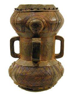 Chokwe Drum, Angola