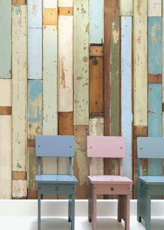 Wallpaper Scrapwood 18PHE03