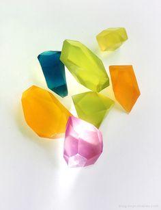 DIY Soap Gemstones