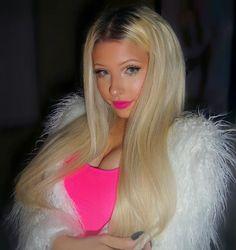 "Brittney Kade on Instagram: ""Barbie Vibes #trans #transgirl #transgender #tgirl #transwoman #girlslikeus #transisbeautiful #mtf #hrt #srs #lgbt #lgbtqia #blonde #tan #barbie #macbarbie #maccosmetics #brittneykade"""