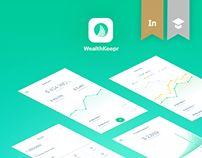 WealthKeepr (Finance Mobile App)