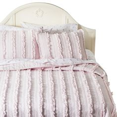 Simply Shabby Chic® Solid Ruffle Quilt - Pink