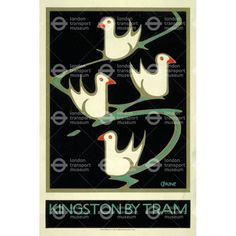 Kingston by Tram - Charles Paine (1920)
