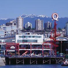 Weit weg Blick auf Hafen und Skyline 555 W Hastings St, Vancouver, BC V6B 4N6, Kanada