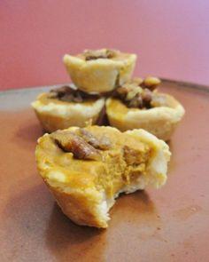 Pumpkin Pecan Tassies by Frugal Foodie Mama