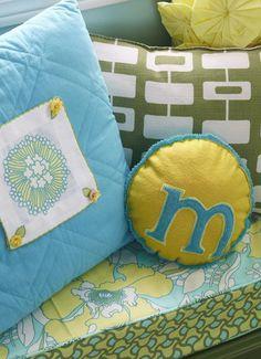 initial pillows