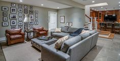 Traditional family room by Johnson & Associates Interior Design