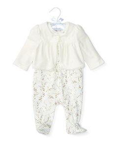 Overall 3-Piece Set - Baby Girl Sets & Outfits - RalphLauren.com