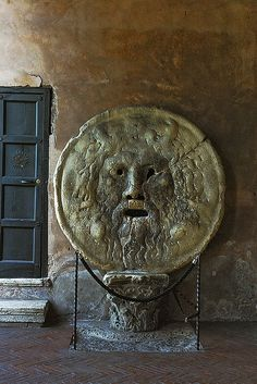 Bocca della Verita ~ Mouth of Truth ~ Rome suggested to all salespeople....