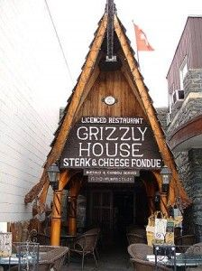 Fondue Banff rockies restaurants