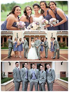 Orlando Weddings, Rosen Shingle Creek, Purple bridesmaid dresses, periwinkle bridesmaid dresses, A Chair Affair Blog