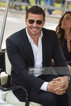 Actor David Boreanaz seen arriving for the 2015 FOX Programming Presentation at Wolman Rink in Central Park on May 2015 in New York City. Get premium, high resolution news photos at Getty Images Bones Actors, Hot Men, Hot Guys, Bones Tv Series, Seeley Booth, Booth And Brennan, Fbi Special Agent, Hot Vampires, Neil Patrick Harris