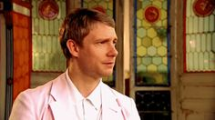Martin, your face (again). Click through, the gif is beyond cute.